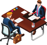 We prepare you for the coming interviews and contract negotiations to feel confident in the meeting and be in control of the conversation.